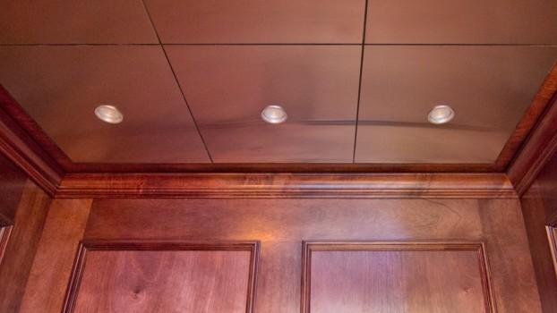 Photographs of Custom Elevator Interiors work